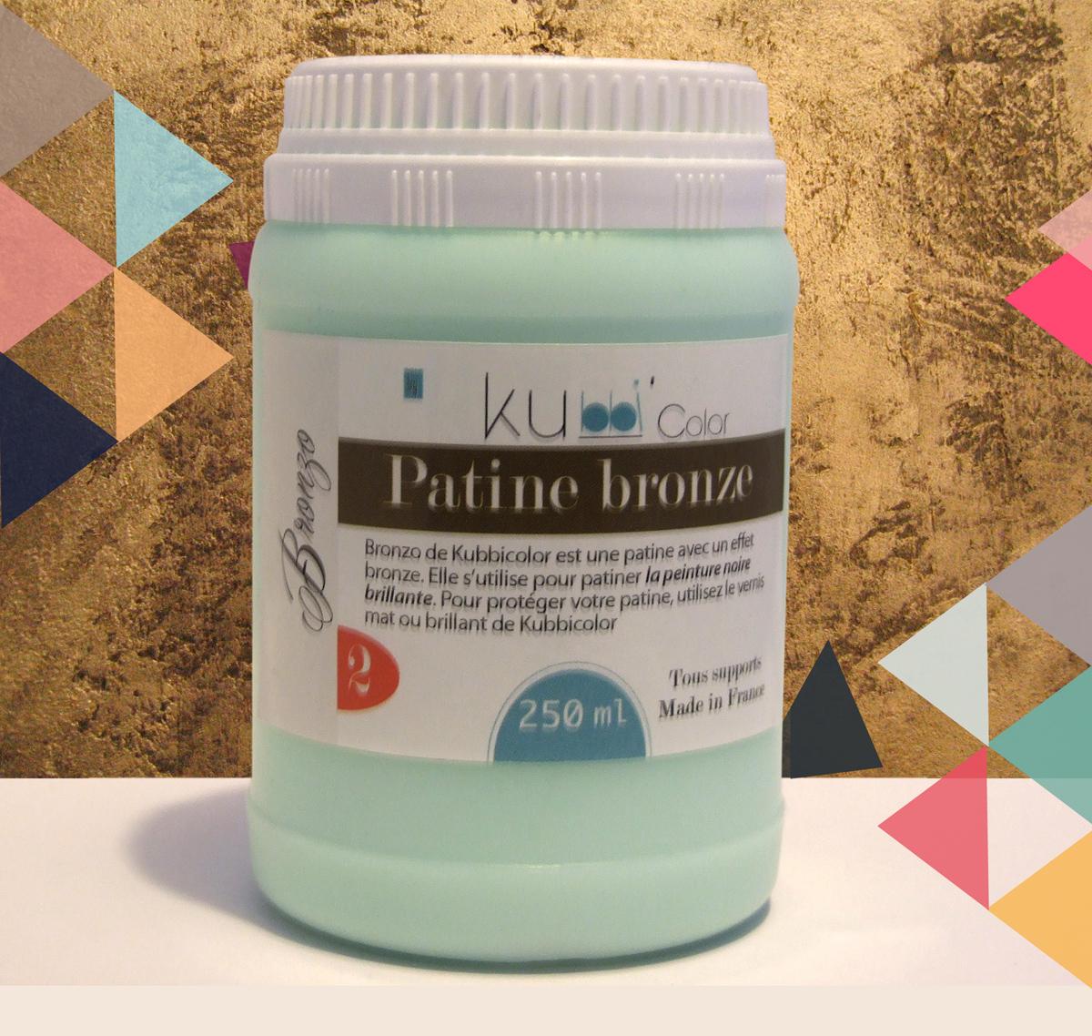 Patine effet bronze de kubbicolor